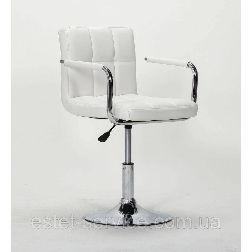Парикмахерское кресло HC8325N белое