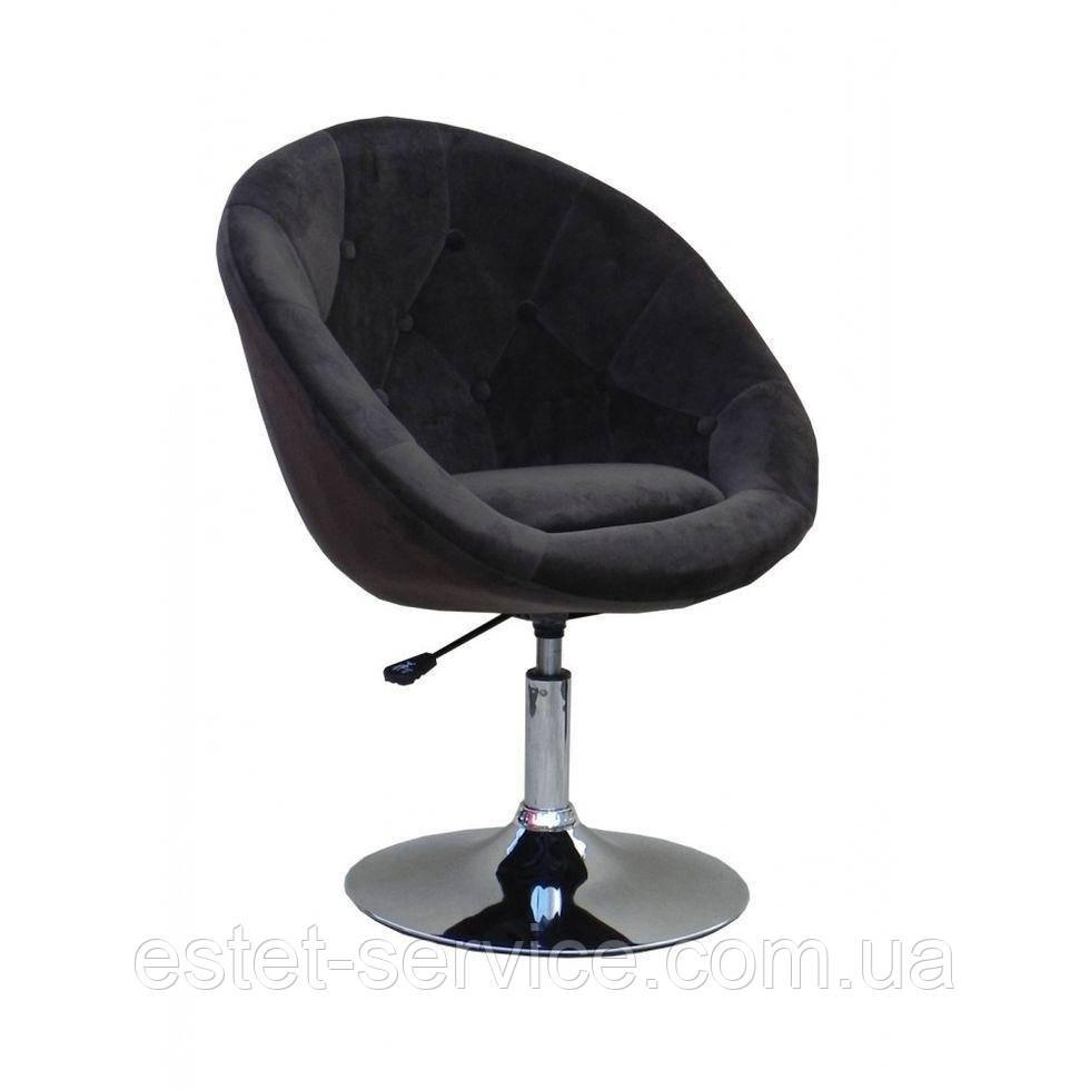 Парикмахерское кресло HC8516 коричневое