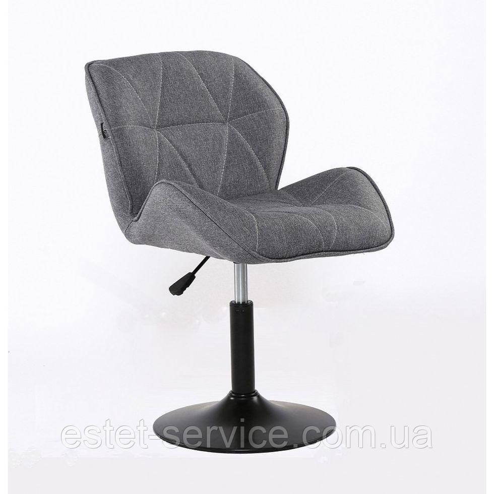 Парикмахерское кресло HROVE FORM HR111 серое ткань