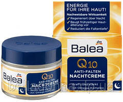 Ночной крем против морщин 50 мл Balea Q10