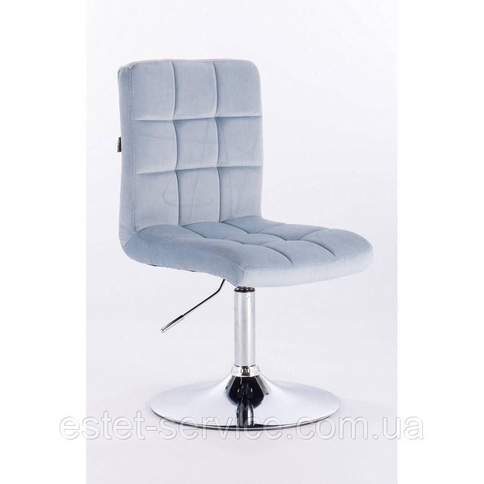 Парикмахерское кресло HROVE FORM HR7009N голубое