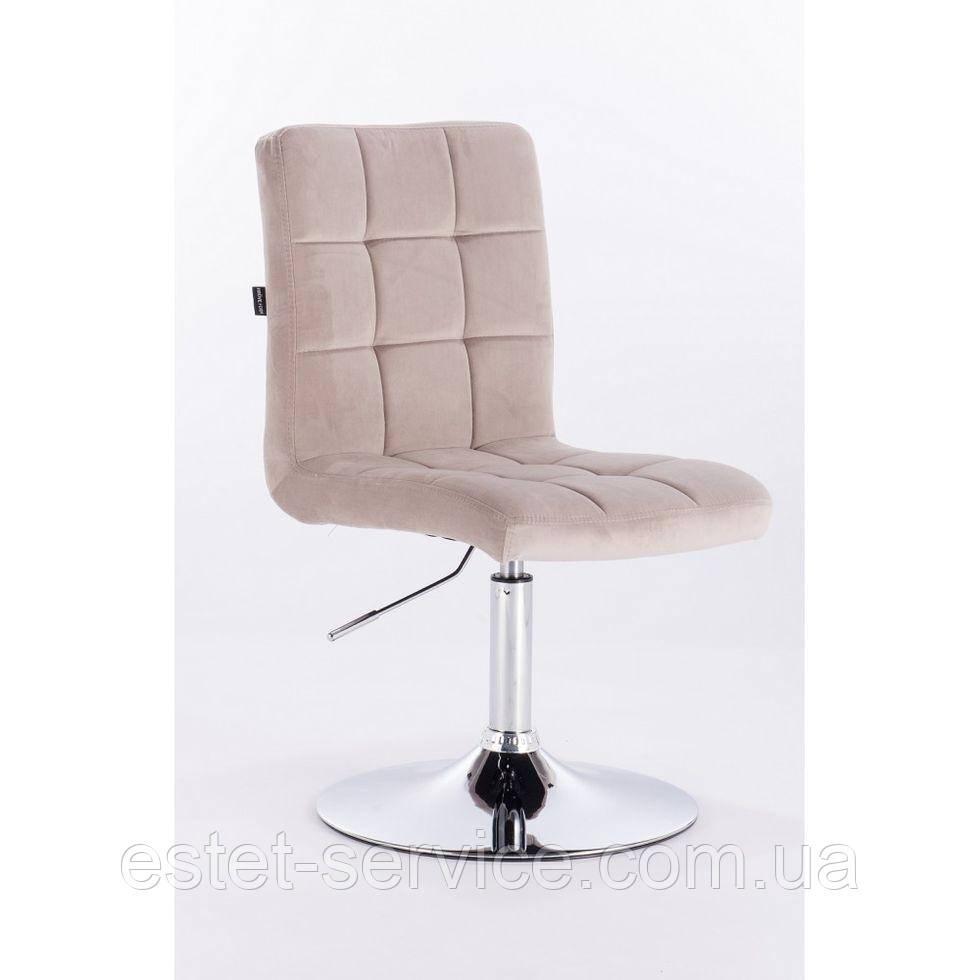 Парикмахерское кресло HROVE FORM HR7009N латте