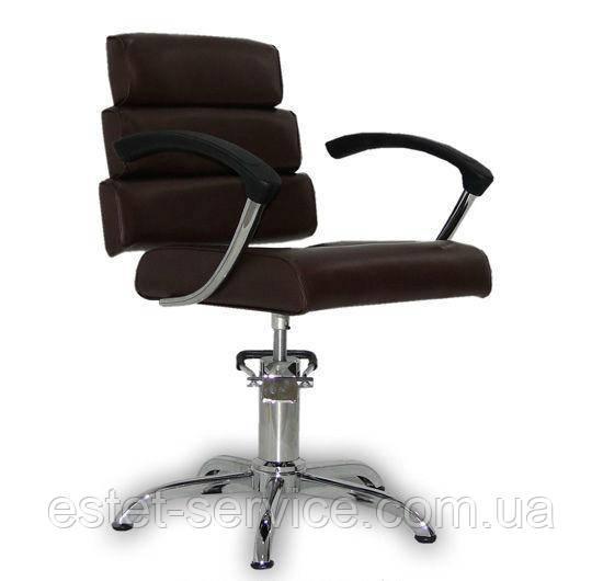 Парикмахерское кресло Italpro коричневое