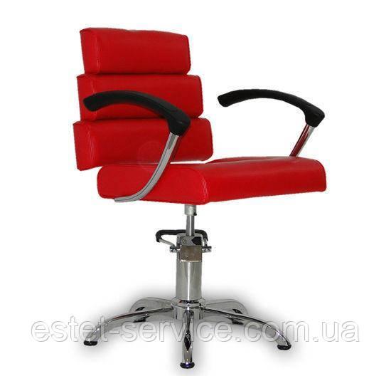 Парикмахерское кресло Italpro красное