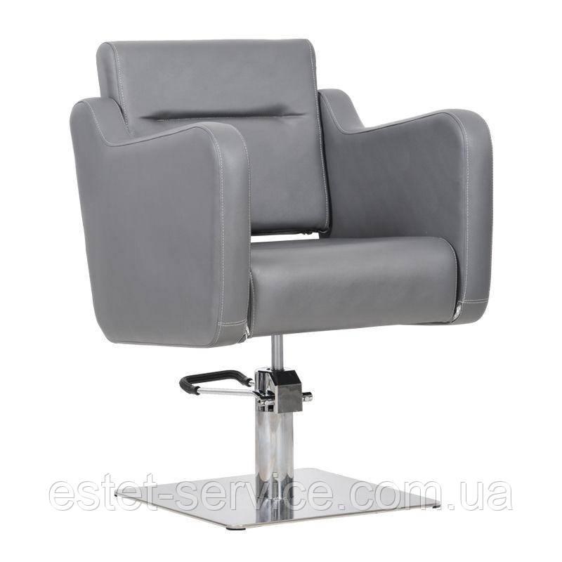 Перукарське крісло Lux графітове