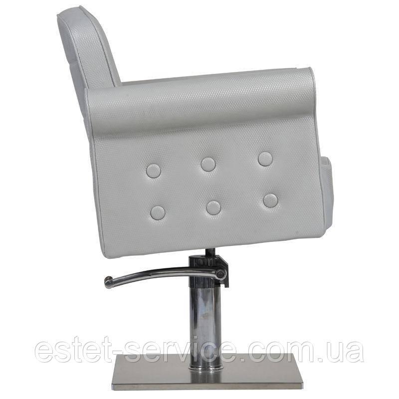 Парикмахерское кресло Miami серое