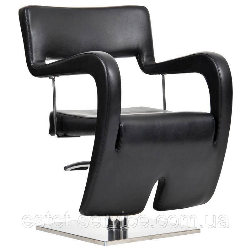 Парикмахерское кресло Neapol черное