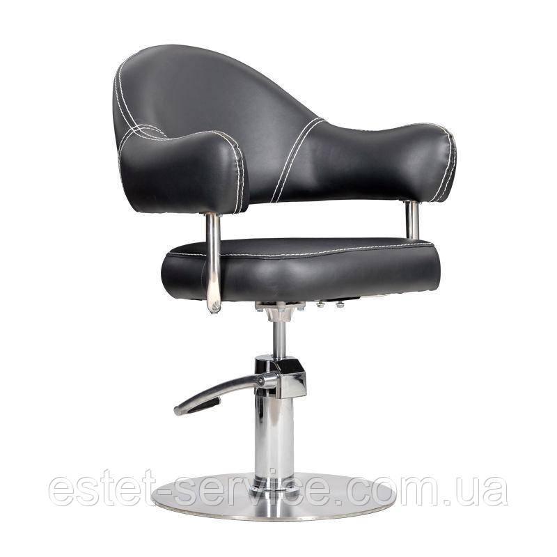 Парикмахерское кресло Opera чернок