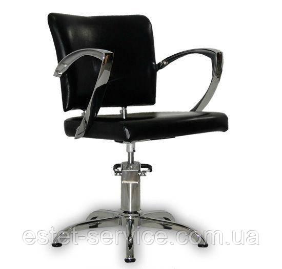 Парикмахерское кресло Palermo черное