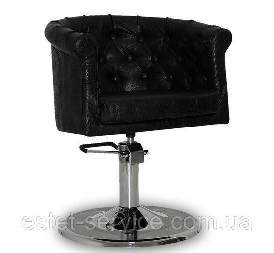 Парикмахерское кресло Rimini  черное