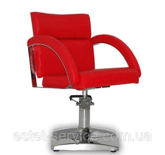 Парикмахерское кресло Verona  красное