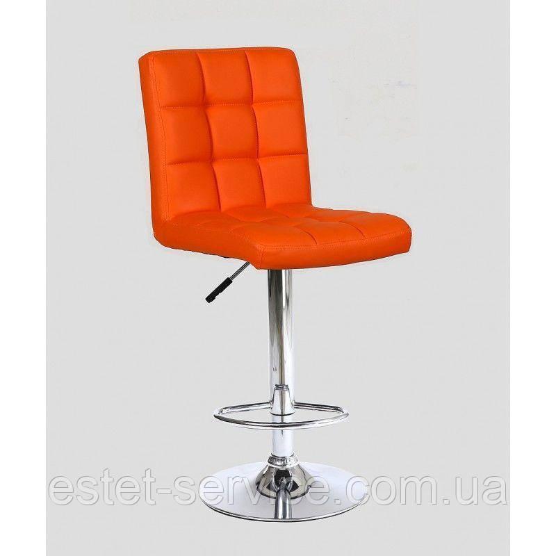 Стул барный хокер HC-1015 оранжевый