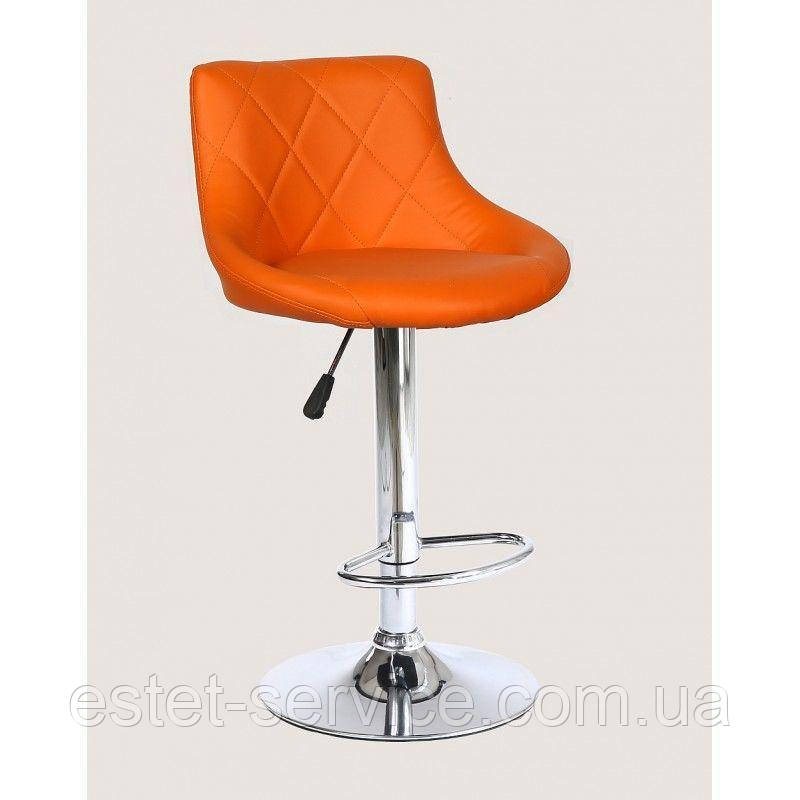 Стул барный хокер HC-1054 оранжевый