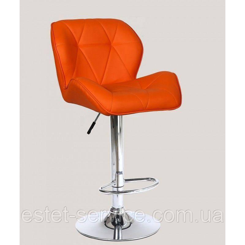 Стул барный хокер HC-111W оранжевый