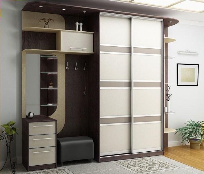 Двери раздвижные для шкафа-купе Крашенное стекло RAL
