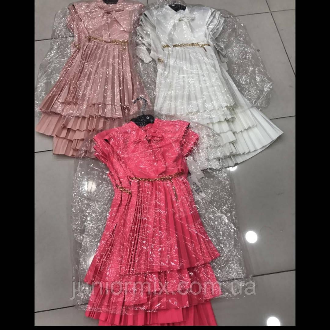 Детские модные платья для девочек оптом  ITALY