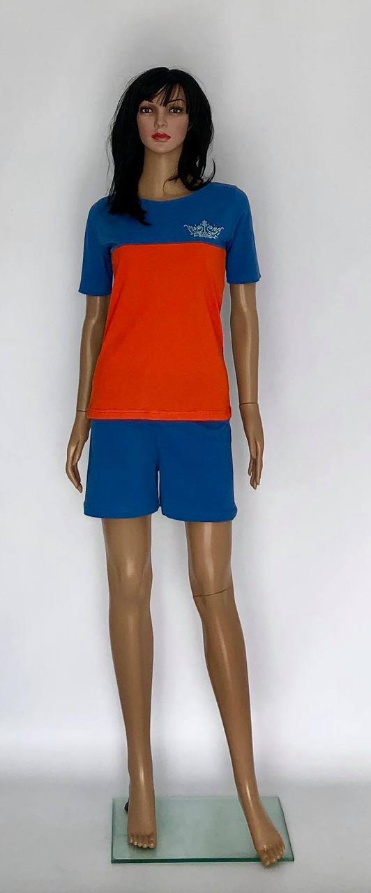 Летние спортивный костюмы с шортами