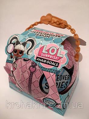 Большой шар Лол9в1 Big Surprise Hairgoals Кукла Лол с волосами B291 аналог, фото 2