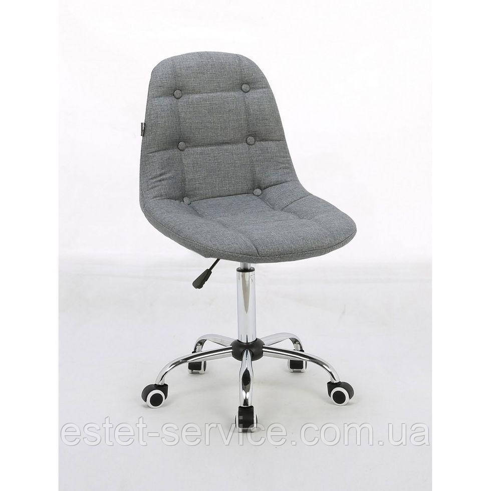 Косметическое кресло HC1801K на колесах в ЦВЕТАХ ткань