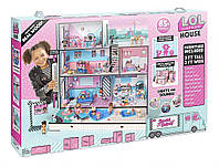 Игровой меганабор с куклами L.O.L. - Модный особняк с аксессуарами (эксклюзивная семья L.O.L. в комплекте)