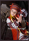 """Український стрій """"Ґаздиня"""", для дівчинки 104, фото 9"""