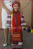 """Український стрій """"Ґаздиня"""", для дівчинки 104, фото 10"""