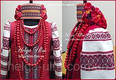 """Український стрій """"Ґаздиня"""", для дівчинки 104"""
