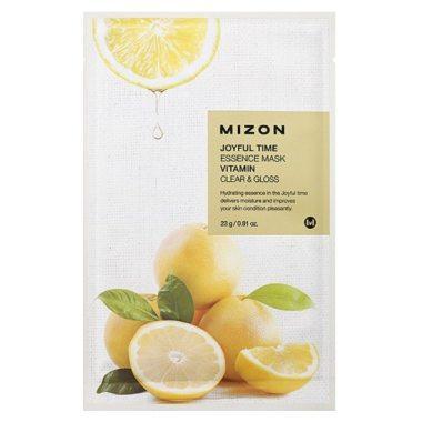 Витаминизированная маска для очищения и сияния кожи Mizon Joyful Time Essence Mask Vitamin Clear & Gloss