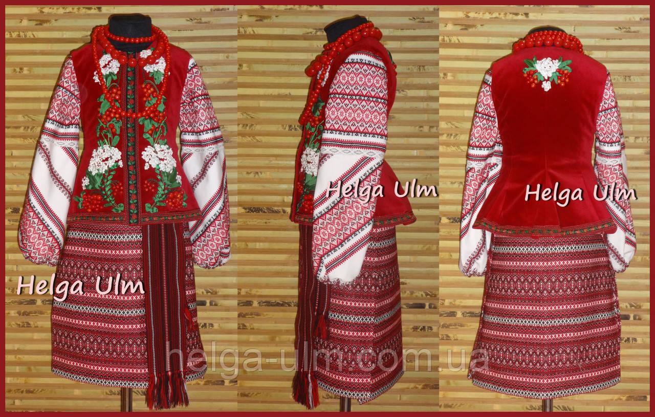 Український костюм (стрій) для дівчинки, на замовлення
