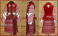 Український костюм (стрій) для дівчинки, на замовлення, фото 1