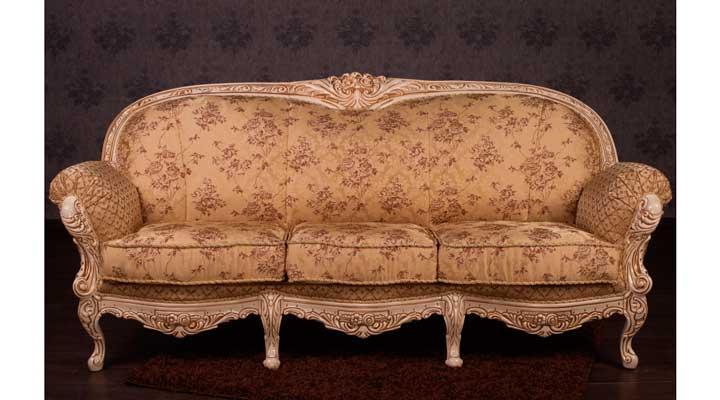 Стильный диван Мила в стиле барокко (220 см)