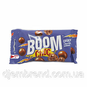 Драже Boom Choc crunch в молочном шоколаде, 50 г.
