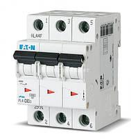 Автоматический выключатель 3-полюсный HL-C63/3 4,5кА 63А Eaton Moeller