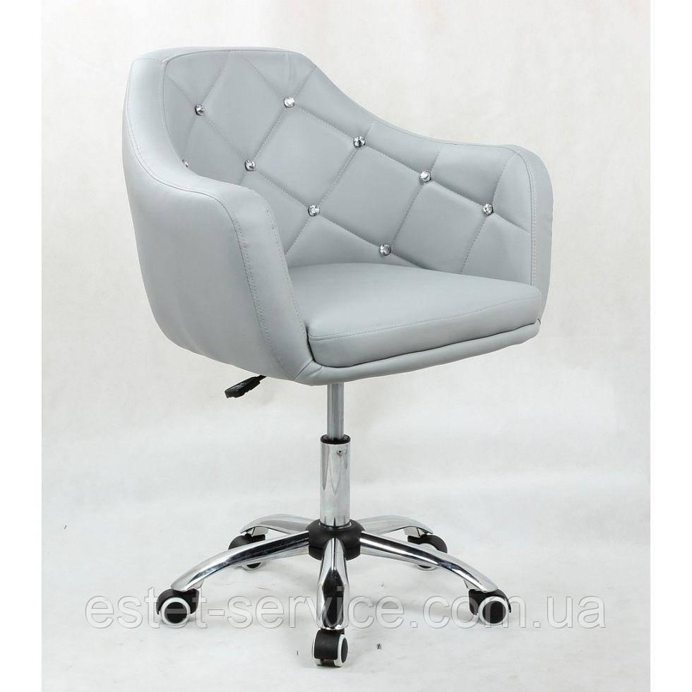Косметическое кресло HC830K  серое