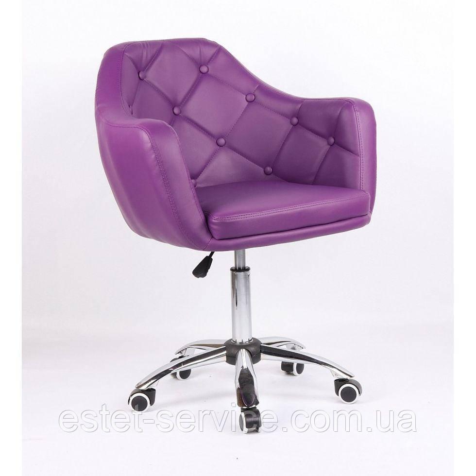 Косметическое кресло HC831K фиолетовое