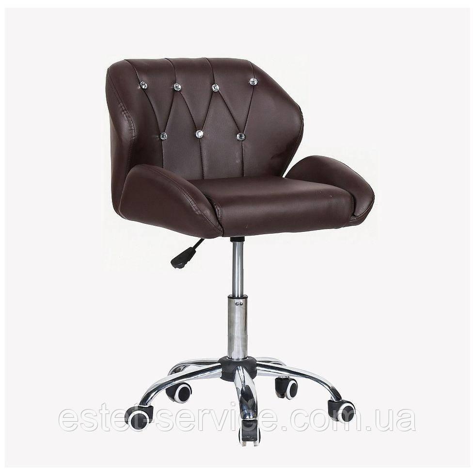 Косметическое кресло HC949K коричневое
