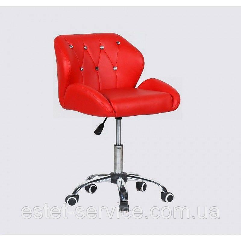 Косметическое кресло HC949K красное