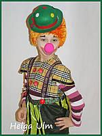 """""""Клоун"""" симпатичний карнавальний костюмчик. Прокат у Львові, фото 1"""