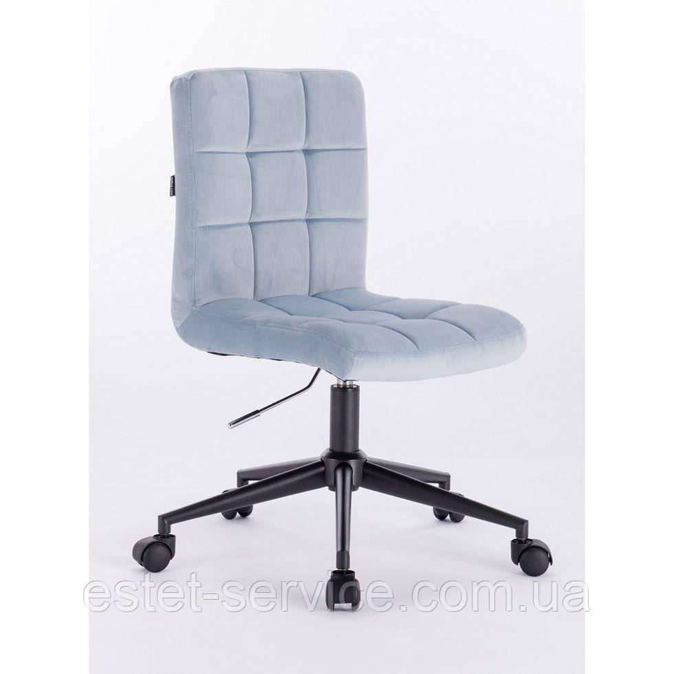 Косметическое кресло HROOVE FORM HR7009K голубое