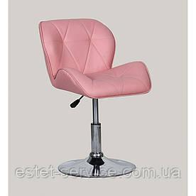 Кресло косметическое HC-111N розовое