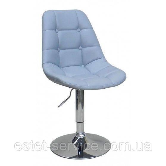 Кресло косметическое HC-1801N серое светлое