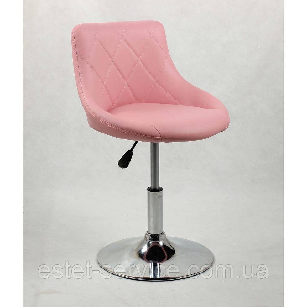 Кресло косметическое HC1054N розовое