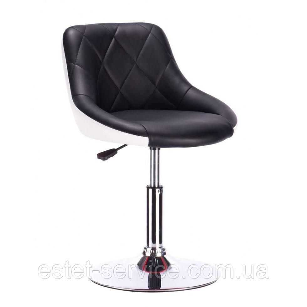Кресло косметическое HC1054N черно-белое