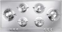 Газовая варочная панель Smeg P106ES нержавеющая сталь