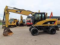 Колёсный экскаватор Caterpillar M316D 2008 года, фото 1