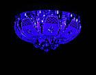 """Люстра """"торт"""" на 4 лампочки с LED подсветкой на пульте управления + динамик с MP3 СветМира VL-2235/400/4, фото 2"""