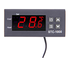 Електронний програмований терморегулятор STC 1000 , терморегулятор для інкубатора