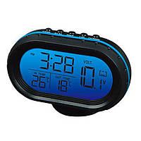 Часы автомобильные VST 7009V | Часы для авто
