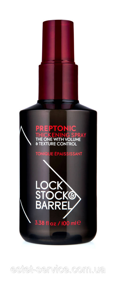 Lock Stock & Barrel Прептоник-спрей для утолщения волос Preptonic 100ml