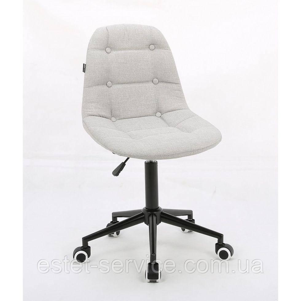 Косметическое кресло HROOVE FORM HR1801K светло-серое ткань